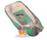 """Кокон-гнездышко для новорожденного """"Зонтики""""+ПОДАРОК!"""