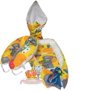 """Кокон-гнездышко для новорожденного комплект """"Топтыжка""""+ПОДАРОК,"""