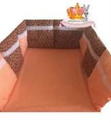 """Бортики-подушки """"Летняя поляна"""" комплект 12 шт. 30*30 см."""