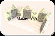 """Бортики в кроватку """"Совушки -6""""комплект 12 шт."""